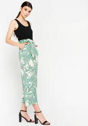 Pantalon à imprimé tropical - LolaLiza - Modalova