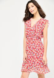 Robe mi-longue avec joli imprimé floral - LolaLiza - Modalova