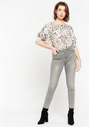 Pantalon skinny à petites paillettes - LolaLiza - Modalova