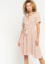 Robe chemise à rayures - LolaLiza - Modalova