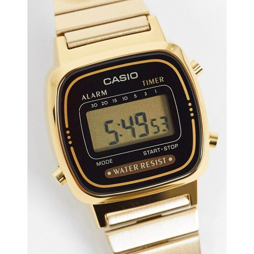 LA670WEGA-1EF - Mini montre digitale - Noir et - Casio - Modalova